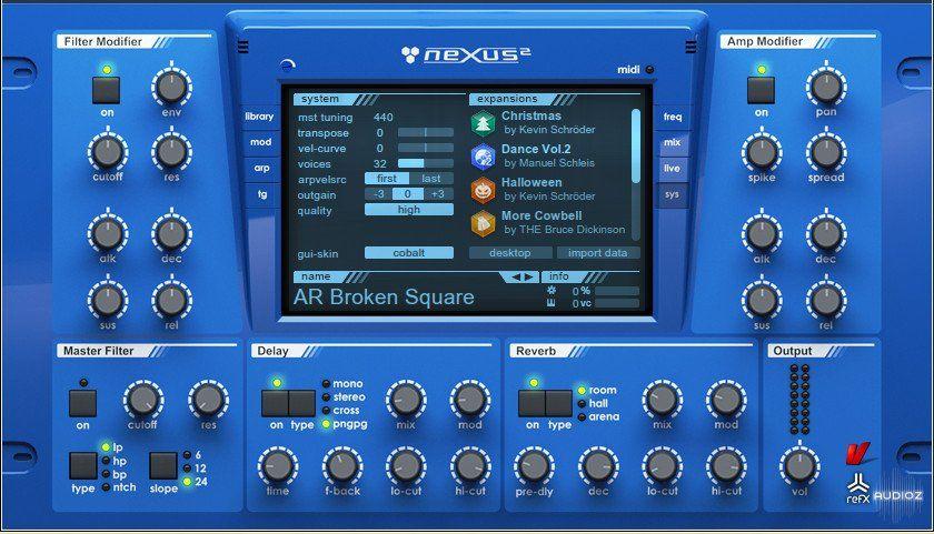 refx nexus 2 mac free download