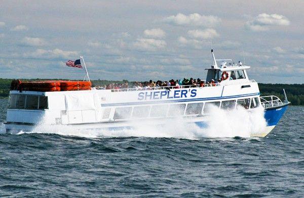 Transportation Ferries Mackinac Island Michigan