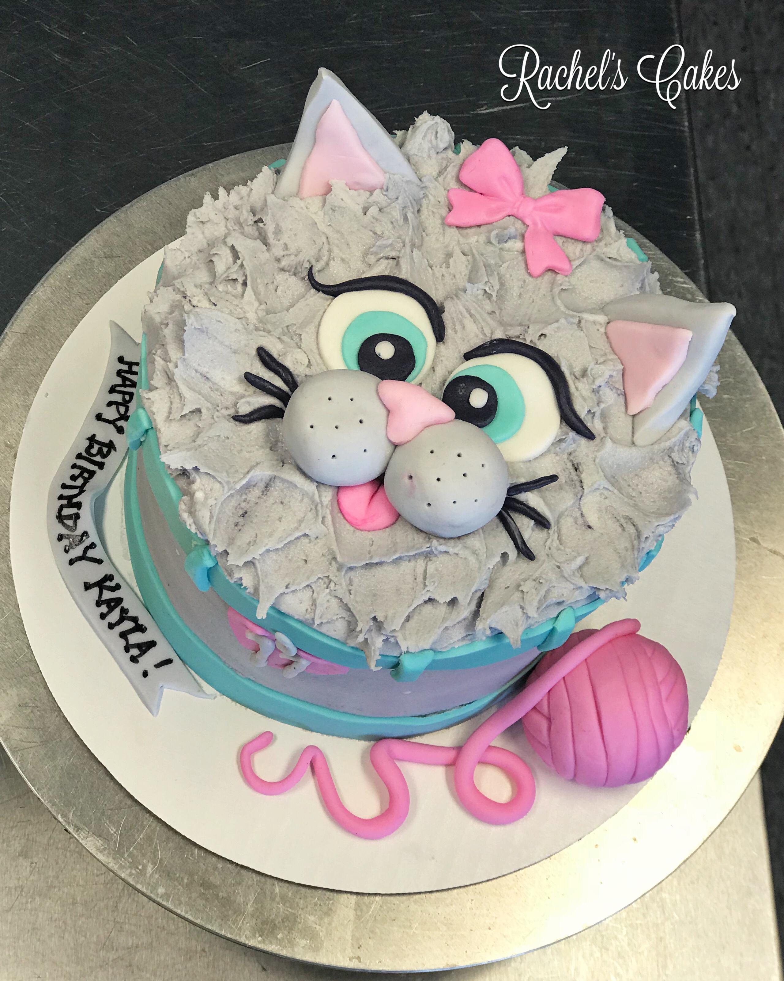 Kitty Cake Birthday Cake For Cat Kids Cake Cat Cake