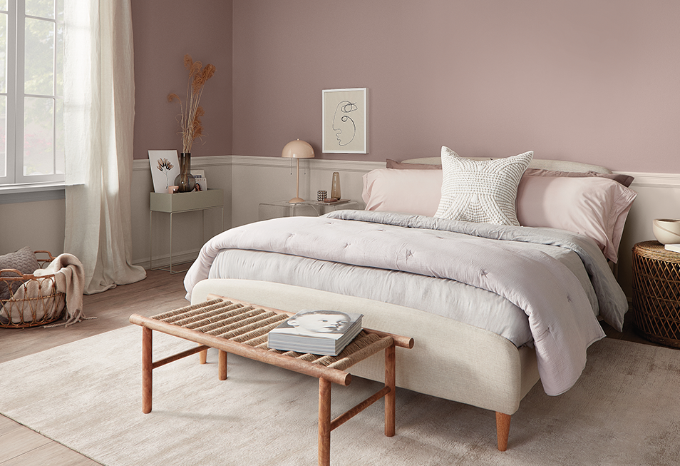 Popular Purple Paint Colors For Your Bedroom When Looking For A Tone To Paint Your Bedroom Walls You Don Purple Bedroom Paint Lavender Bedroom Glam Bedroom