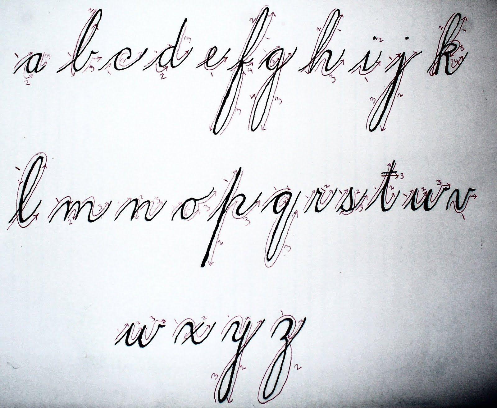 Spencerian La S Hand Mid S Handwriting Part Ii