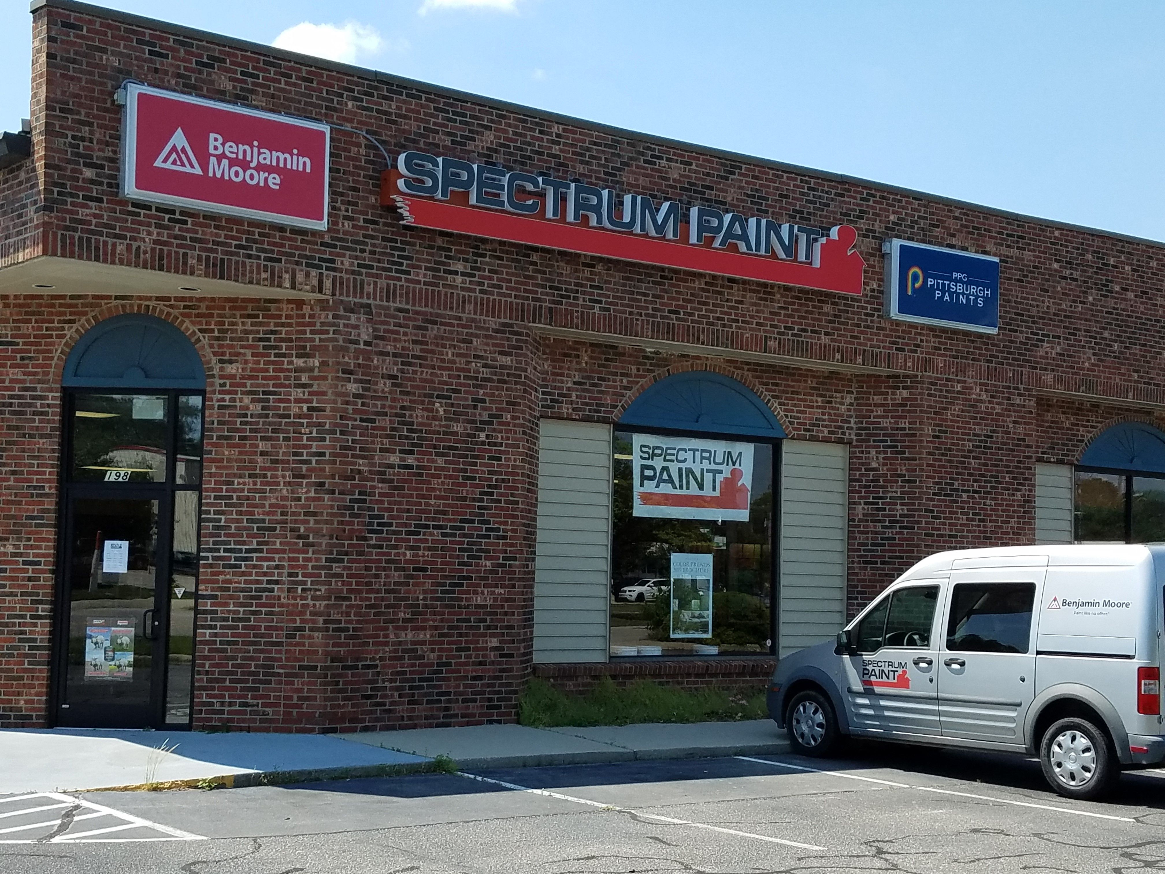 Your Local Spectrum Paint Store In Fayetteville Nc We