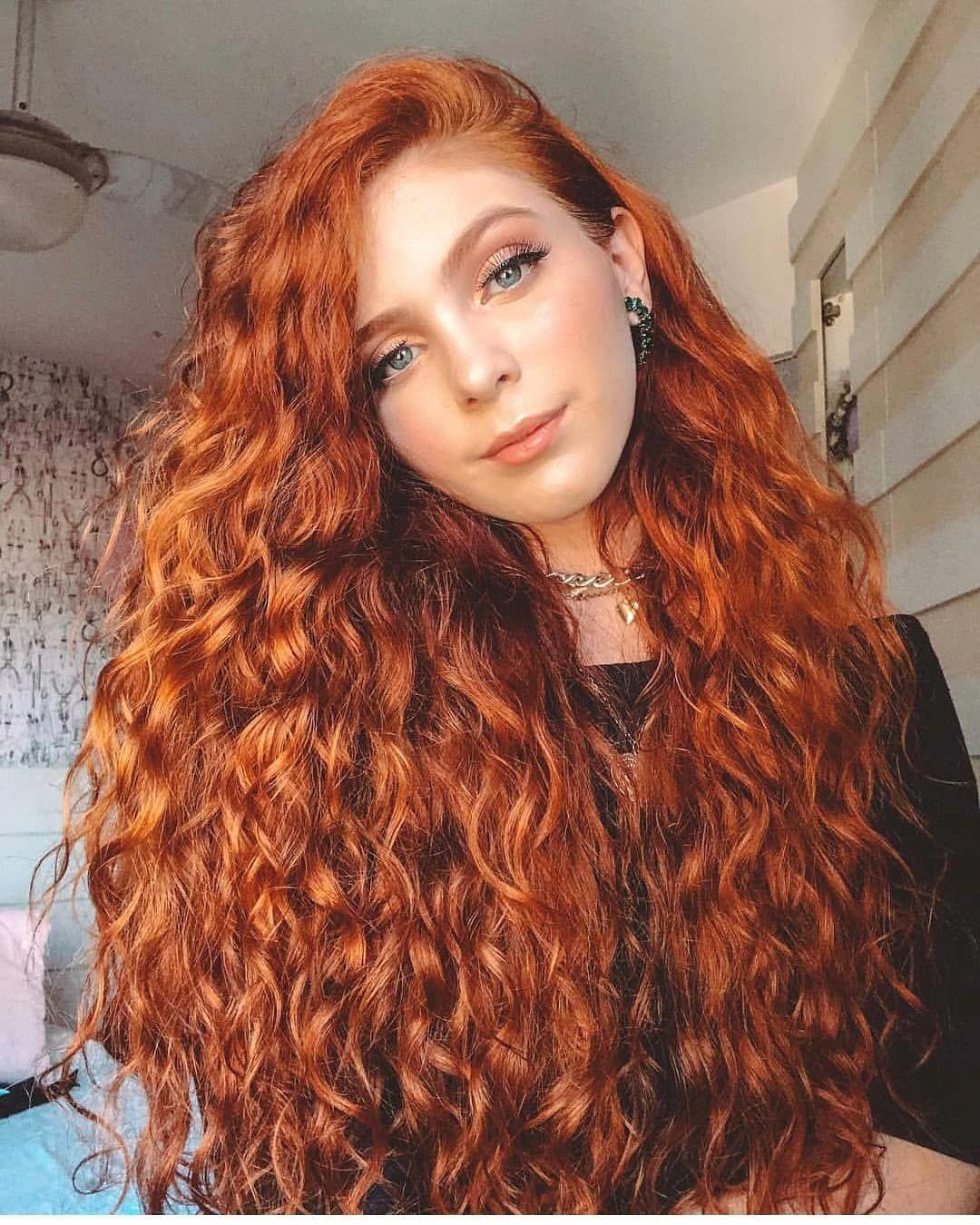 Frisuren Rote Haare Locken - Frisuren Schnell Gemacht