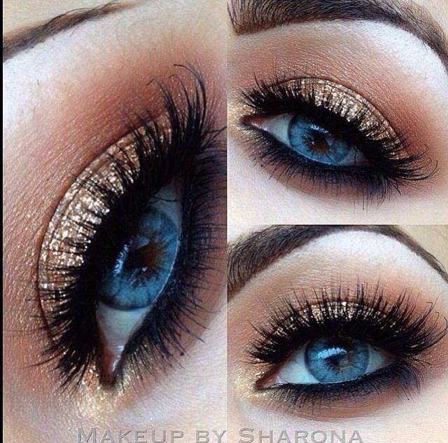Sombra Dourada Style Pinterest Makeup Eye Makeup And Blue Eye