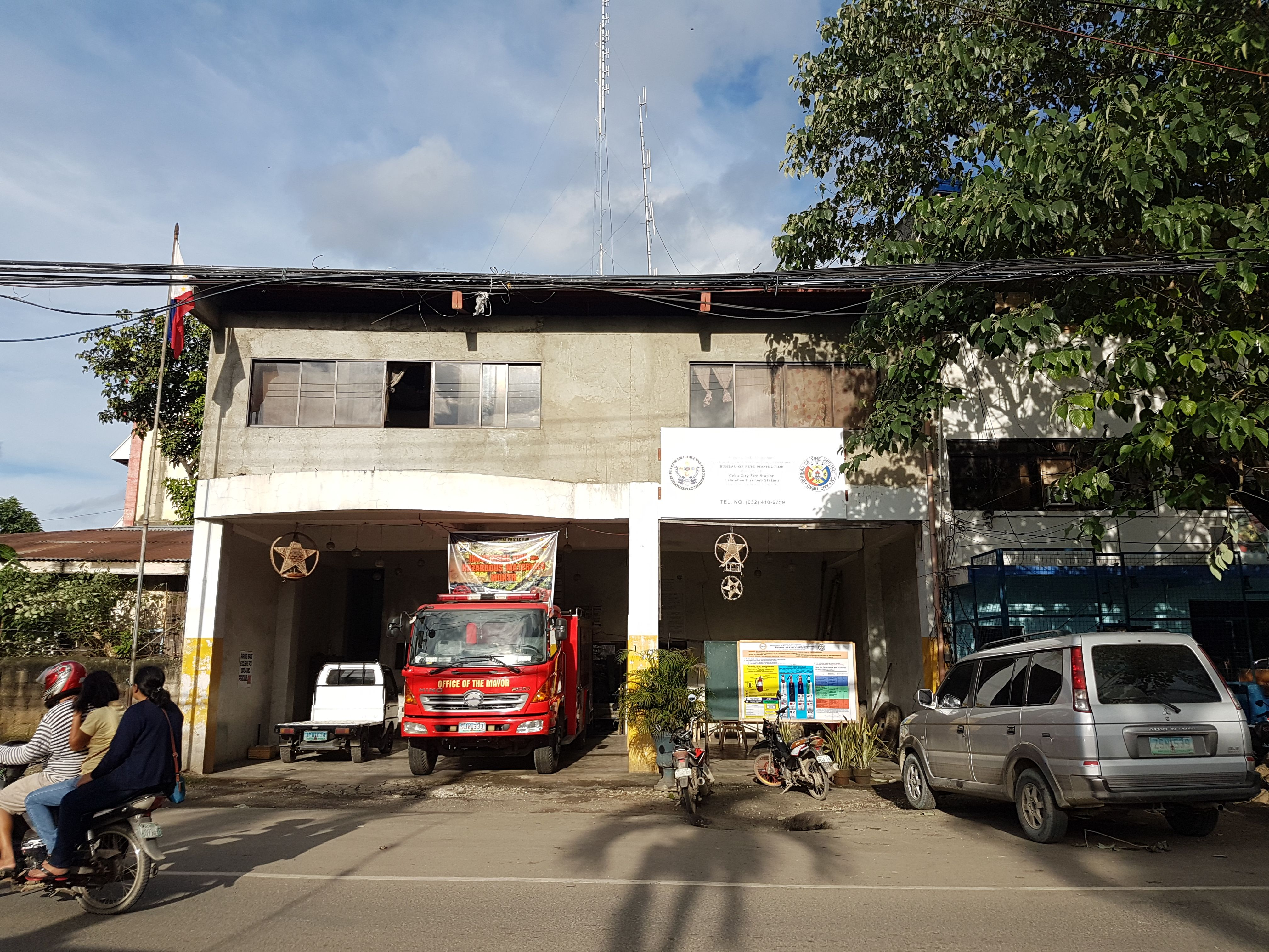 Philippines Fire Station | Fire Station in 2019 | Cebu city, Cebu