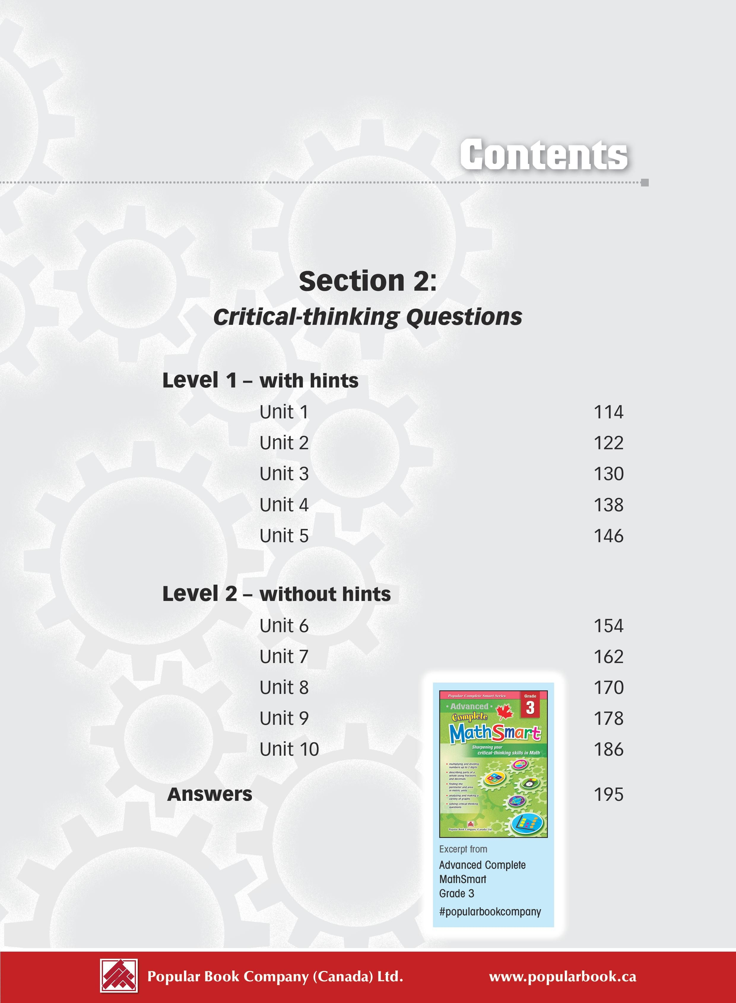 Popular Complete Smart Series: Advanced Complete MathSmart is the ...