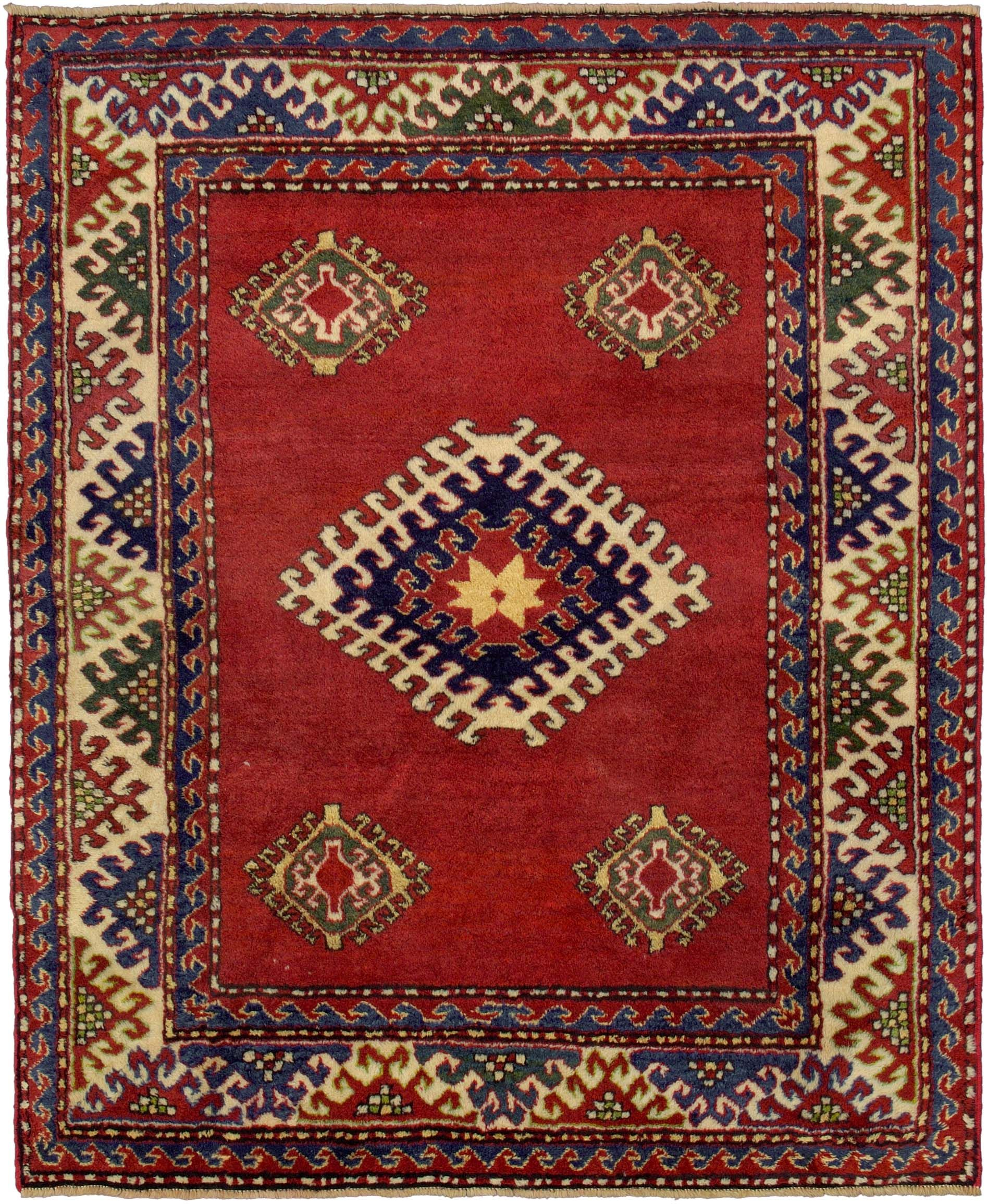 Looking For The Best Top Rated Handmade Hand Knotted Traditional Antique Style Persian Geometric Bordjalou Kazak Oriental Rug