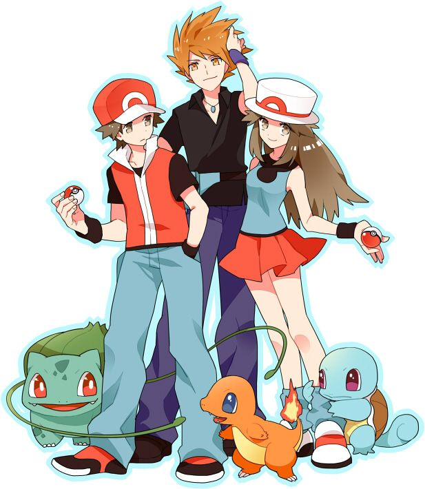 pokemon blue and green