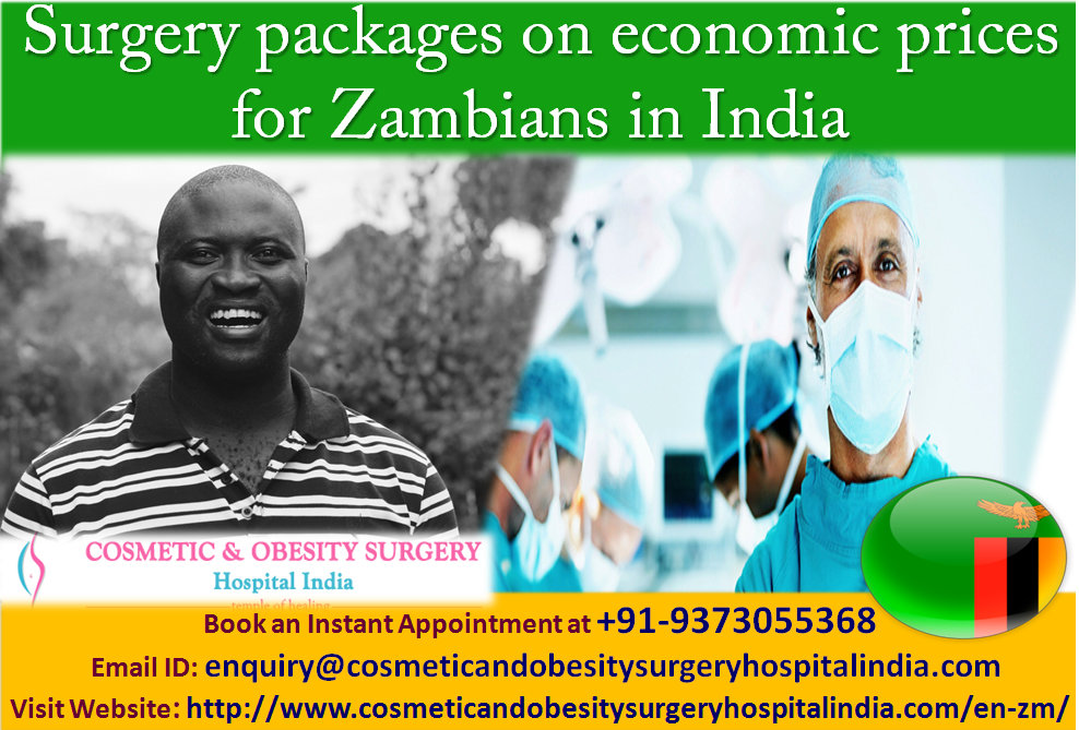 Obesity surgery Price in India for Zambia Patients ...