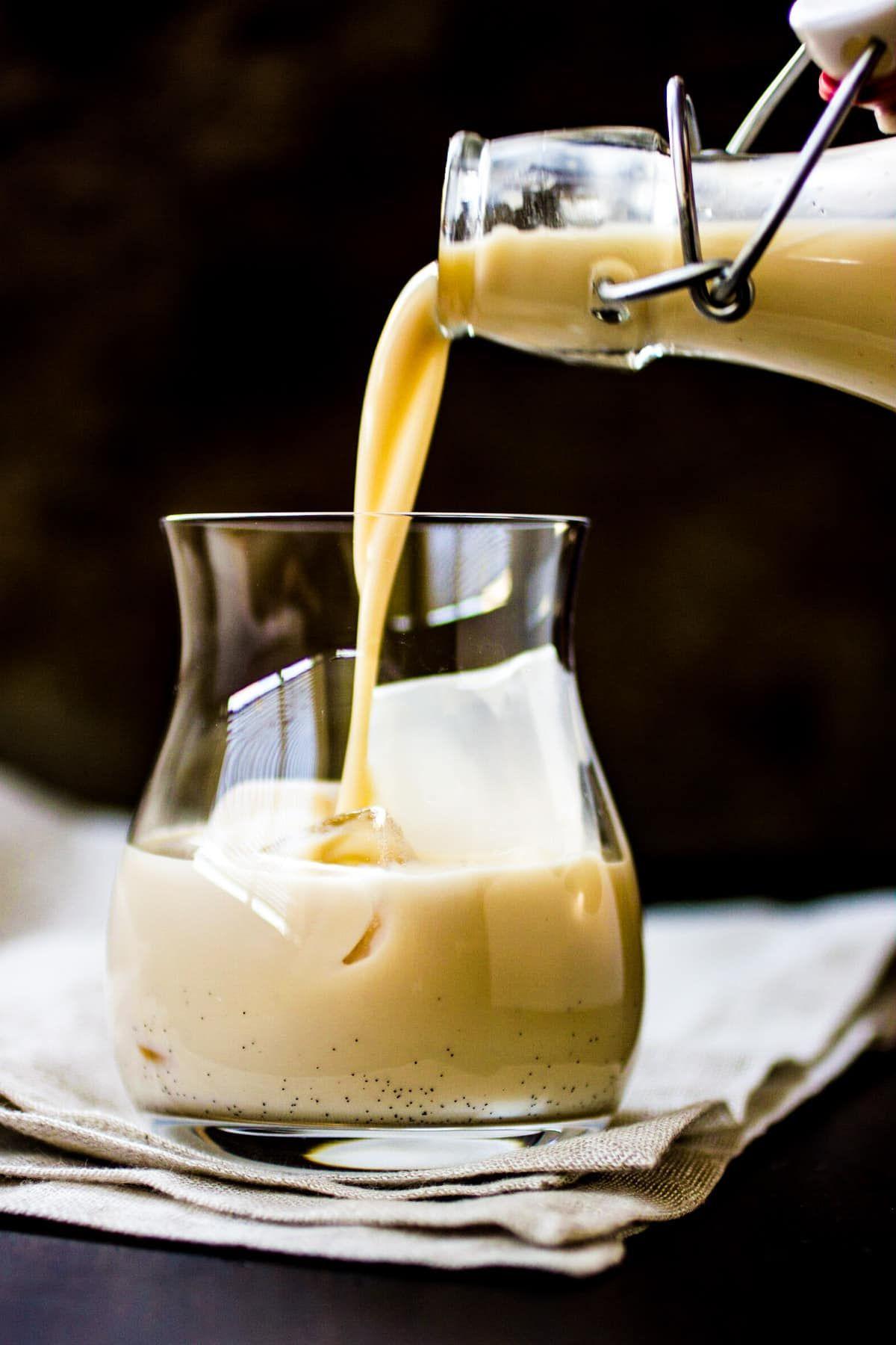 Homemade Irish Cream Liqueur Recipe Homemade liqueur
