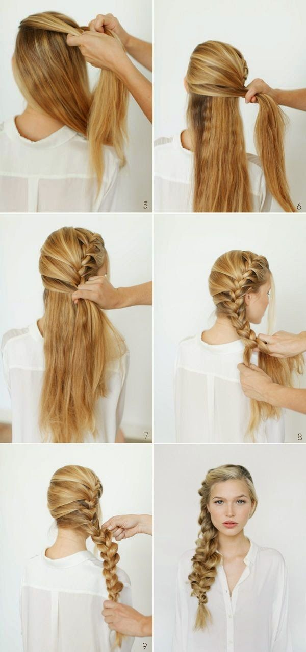 Fashion And Style Top 10 Beautiful Braided Hair Tutorials Beautiful Braided Hair Hair Styles Braided Hairstyles Tutorials