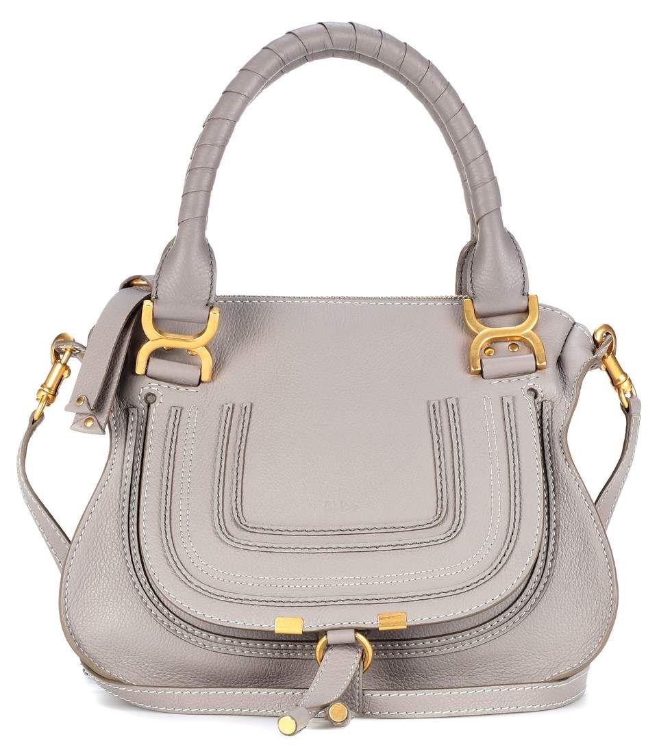 8f5b8f8a721b CHLOÉ Marcie Medium leather shoulder bag.  chloé  bags  shoulder bags  hand  bags  cashmere  leather  lining