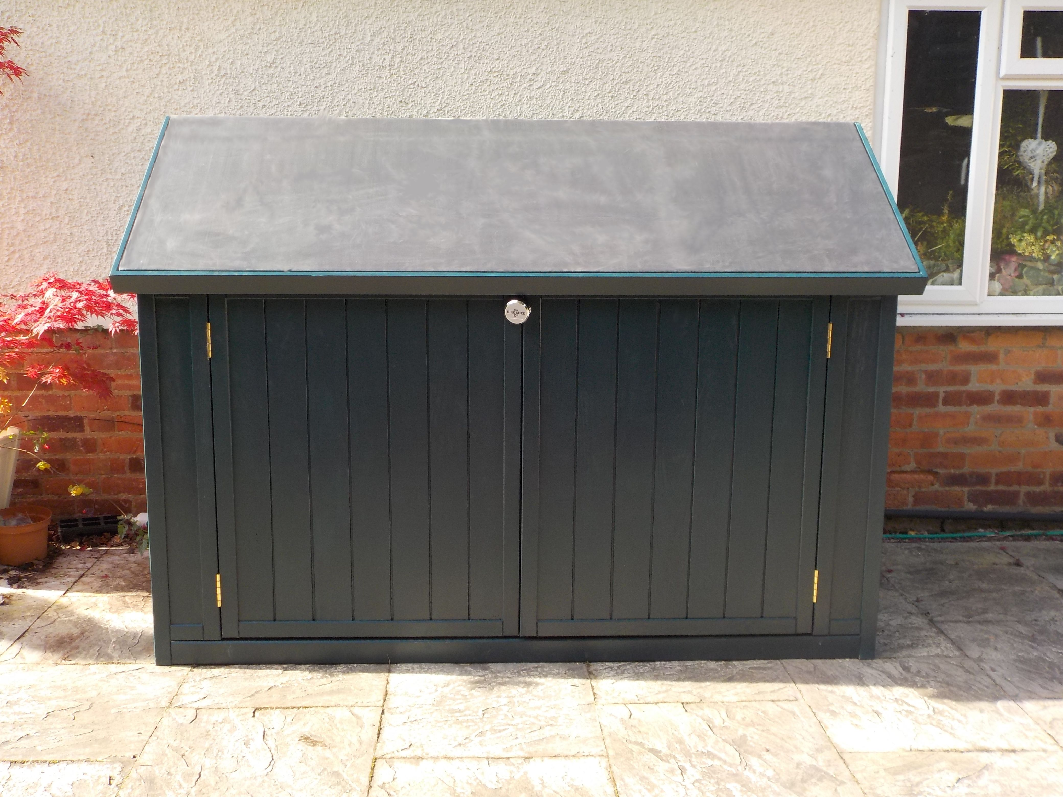 Solid And Secure Bike Sheds Hand Made In Bristol For Uk International Delivery