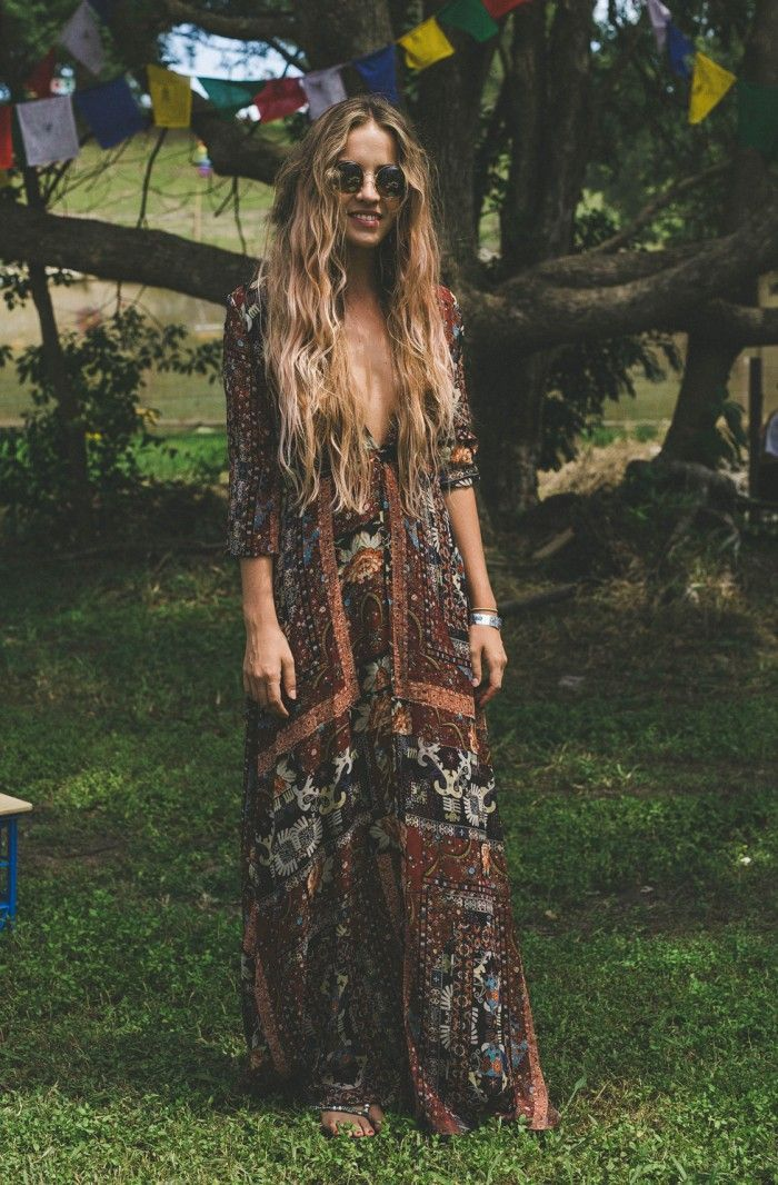 50+ Boho & Gypsy Outfit Ideas For This Summer #gypsy