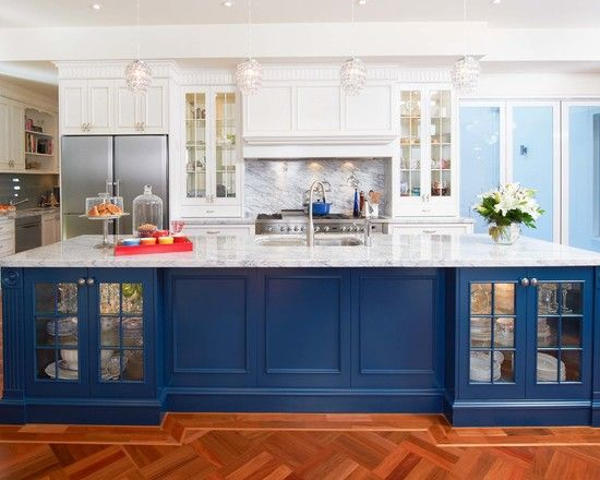 Top 25 Cocinas Azules Blue Kitchen Islandkitchen