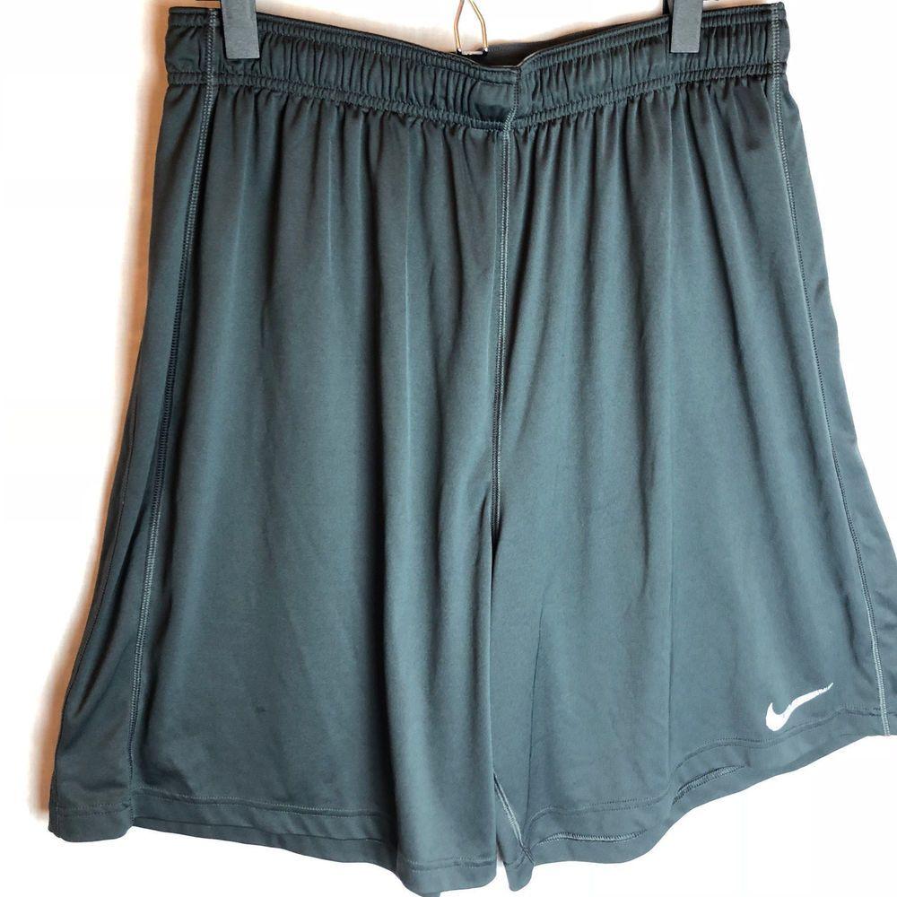 bc4fff2438e4 Nike Dri-Fit Team Fly Shorts Size XXL Mens Gray Basketball Athletic No  Pockets  Nike  Shorts