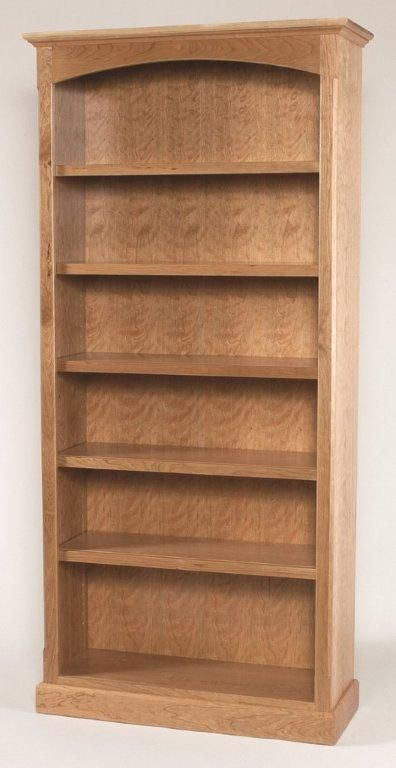 Amish Home Office Plain Shaker Bookcases Bookcase Amish House