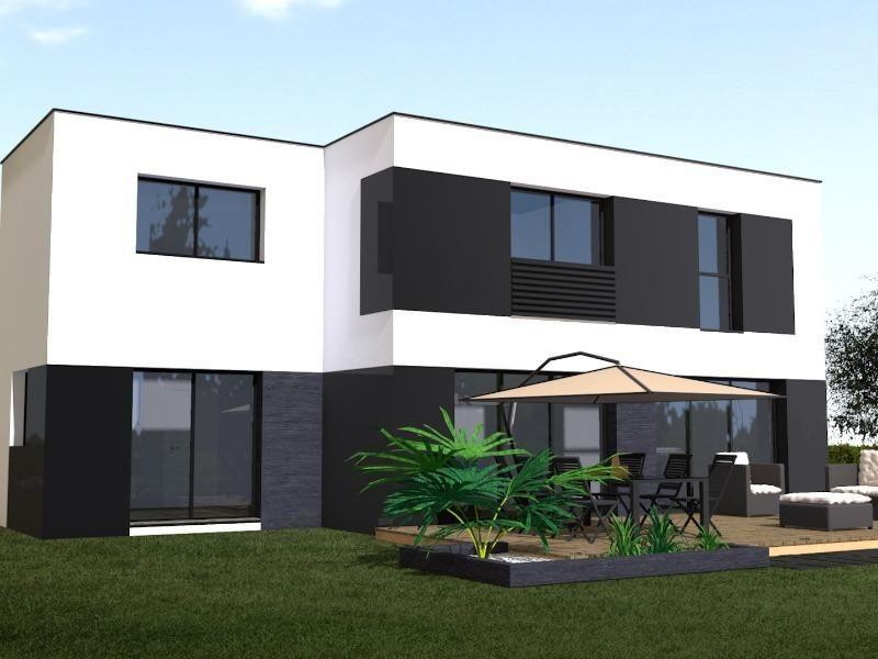Resultat De Recherche D Images Pour Maison Moderne 120m2 Maison Cubique Maison Moderne Couleur Facade Maison