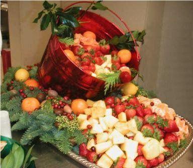 My Photo Album | Fruit centerpieces, Wedding reception food and ...