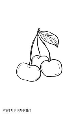 Disegni ciliegie da stampare e colorare immagini disegni for Disegni da colorare ciliegie