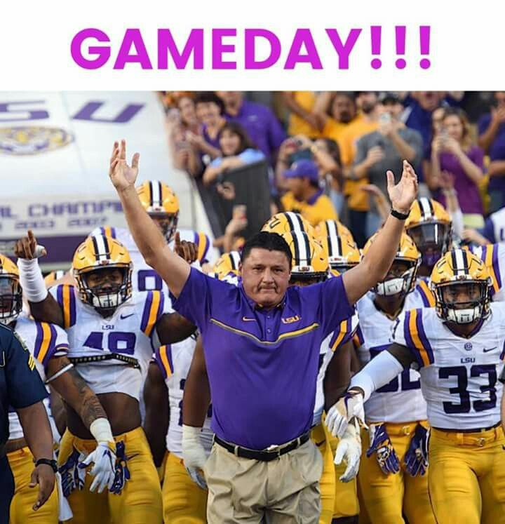 Love Coach O Lsu Tigers Football Lsu Football Lsu Baseball