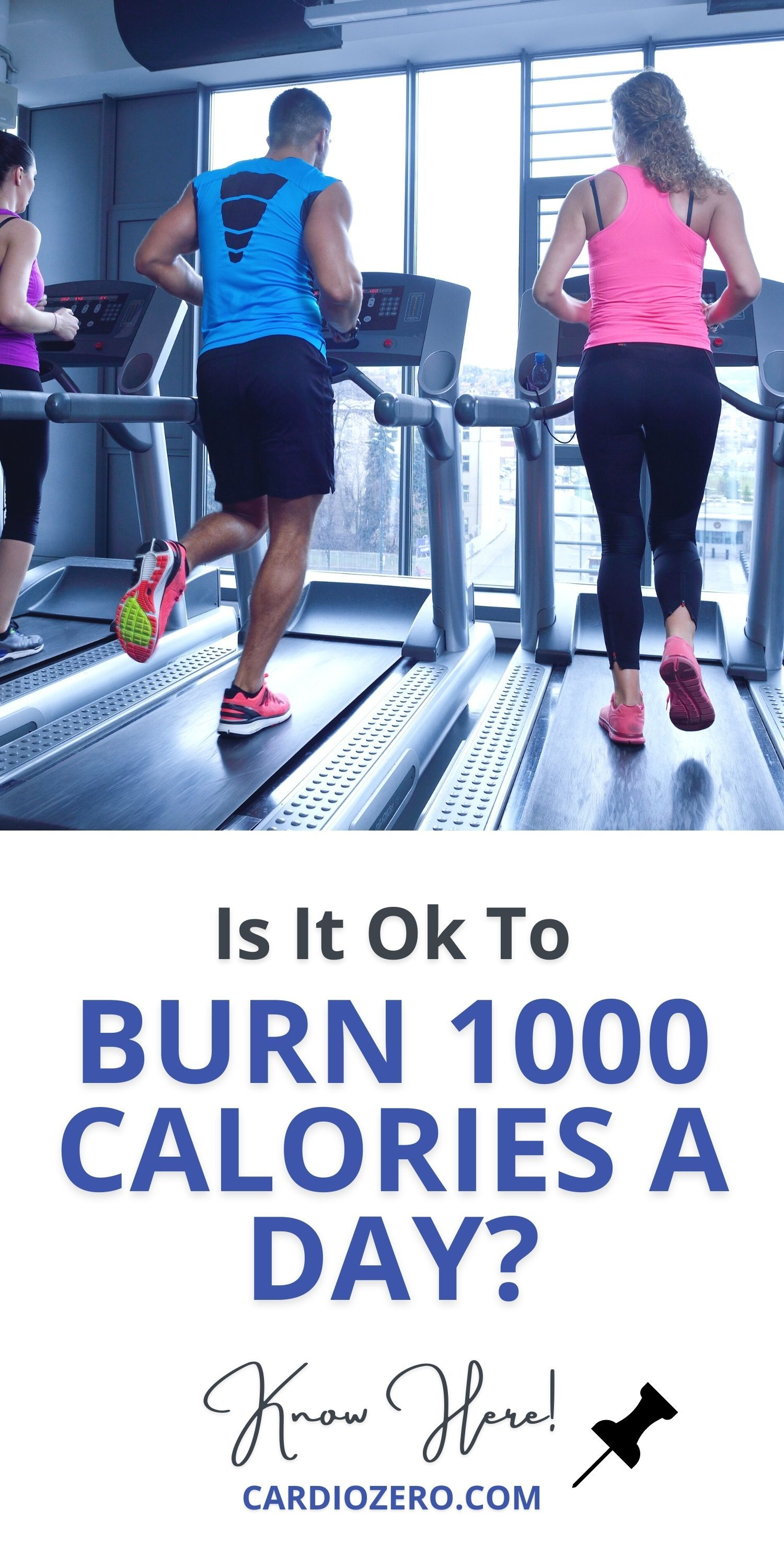 Burning 1,000 calories sounds pretty awesome; that's nearly a third of a pound per workout. At that rate, you'll be back in your skinny jeans by summer! But Is It Ok To Burn 1000 Calories A Day? Let's know here! #weightloss