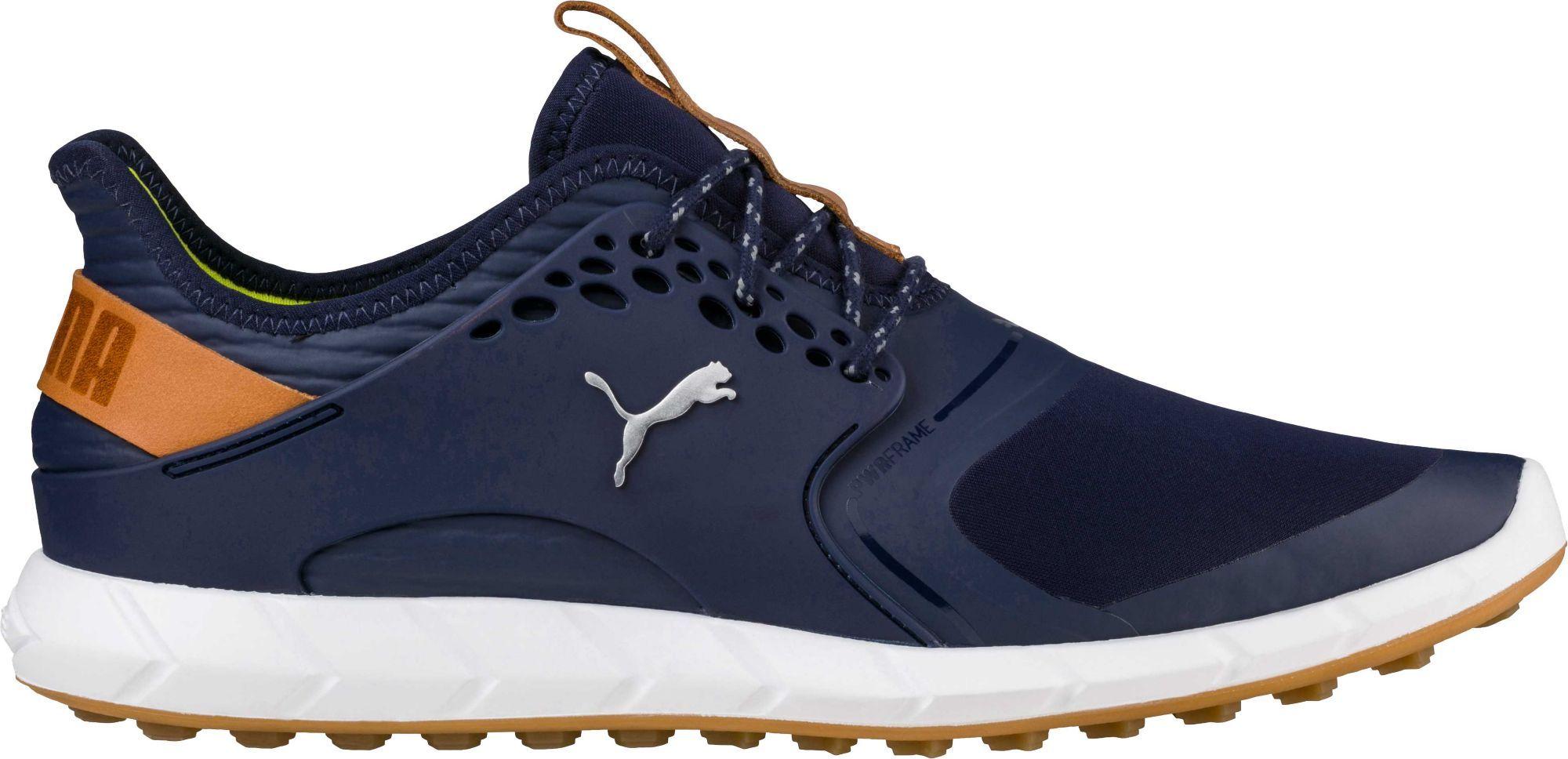 Puma Ignite Pwrsport Golf Shoes, Men's, Size: 14.0, Blue