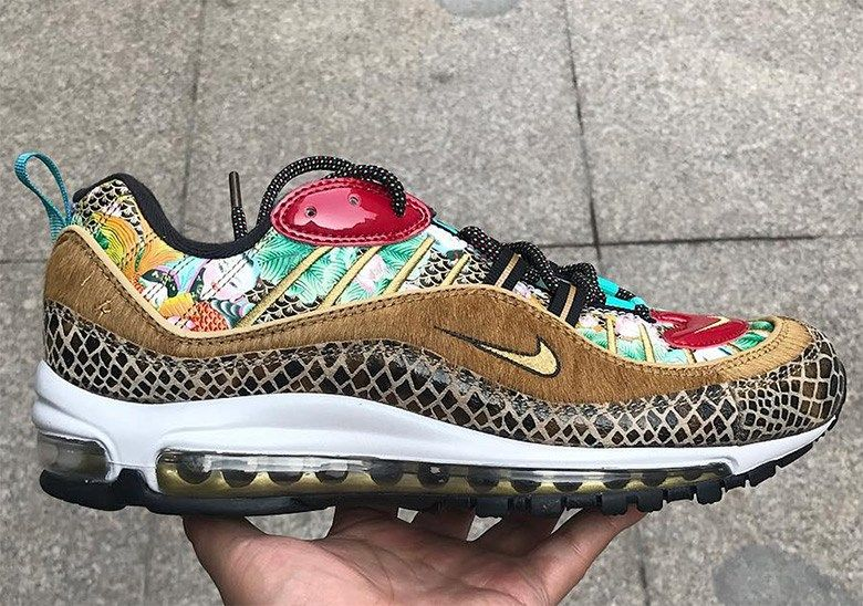 """premium selection e2b75 24dc5 Nike Air Max 98 """"Chinese New Year"""" - FIRST LOOK"""