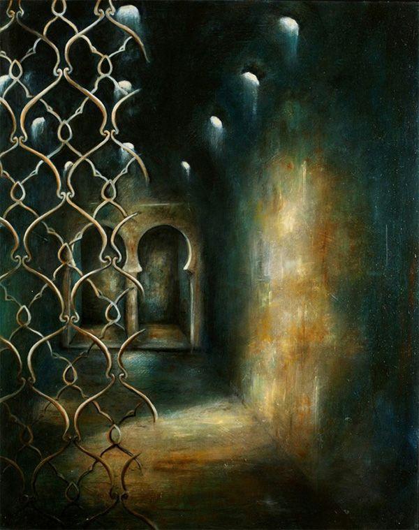 Hamam II by the contemporary artist Lynda Watson available ...