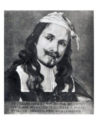 Caravaggio self-portrait