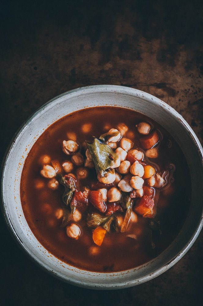 Instant Pot Cajun Spiced Chickpea Soup Vegan