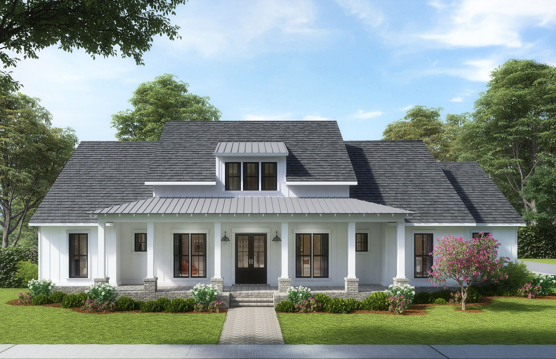 Madden Home Design The Whistlewood Farmhouse Modern Farmhouse Plans Farmhouse Plans Madden Home Design