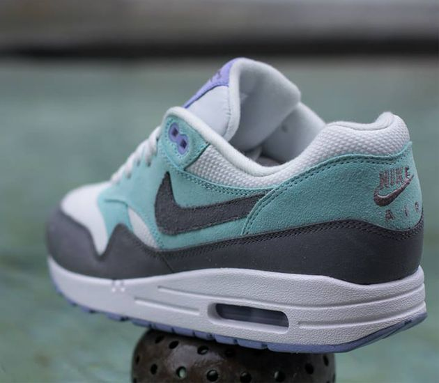 Trendy Womens Sneakers 2017 2018  Nike Air Max 1 WMNSLight Base GreyCool  GreyGlacier IcePurple  Fashion Inspire  Fashion inspiration  Magazine