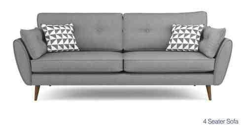 French Connection Zinc Sofa Dfs Seater Sofa Sofa Set Geometric Living Room