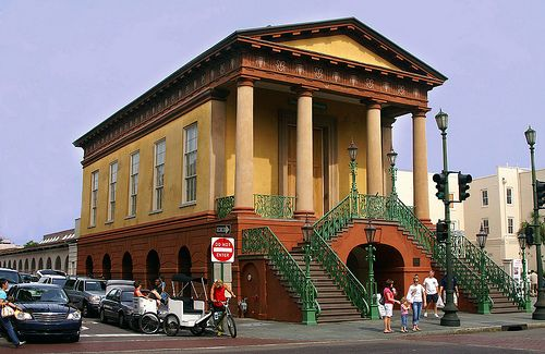 Entrance to Old Slave Market, Charleston, SC  When in