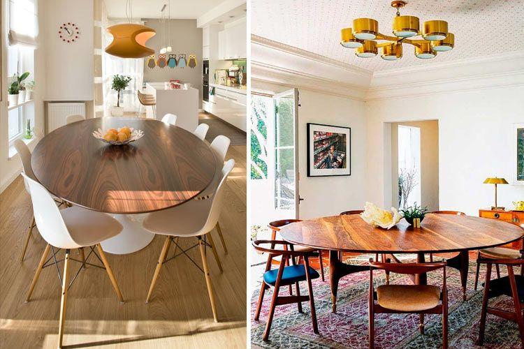 Tipos de mesas de comedor en la decoración   Comedor en 2019   Mesas ...