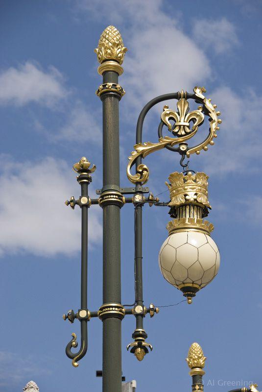 Lamp Post Madrid 75484 Lamp Post Street Light Lantern Post