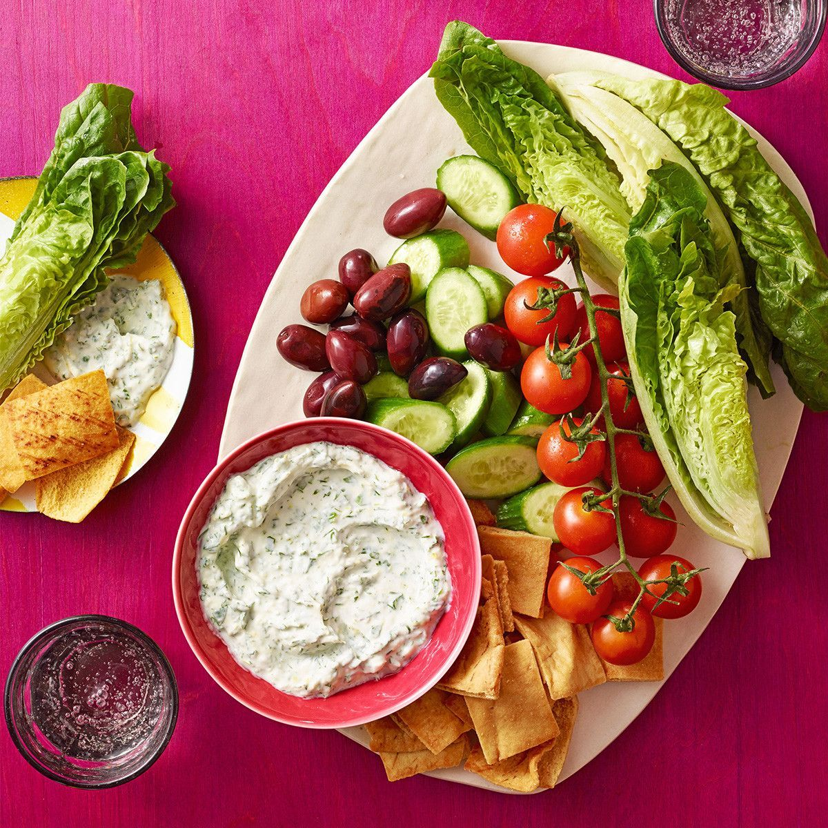 Greek Tilapia Tender Salad pics