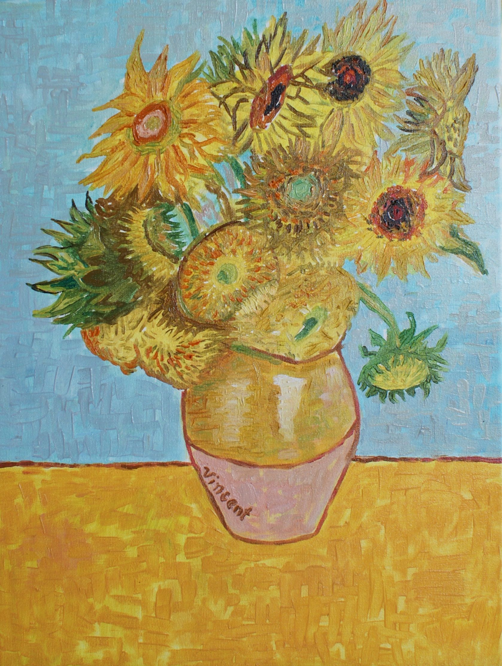 Sunflowers Vincent Van Gogh Art For Sale Postimpresionissm Vincent Van Gogh Paintings Art Vincent Van Gogh Art