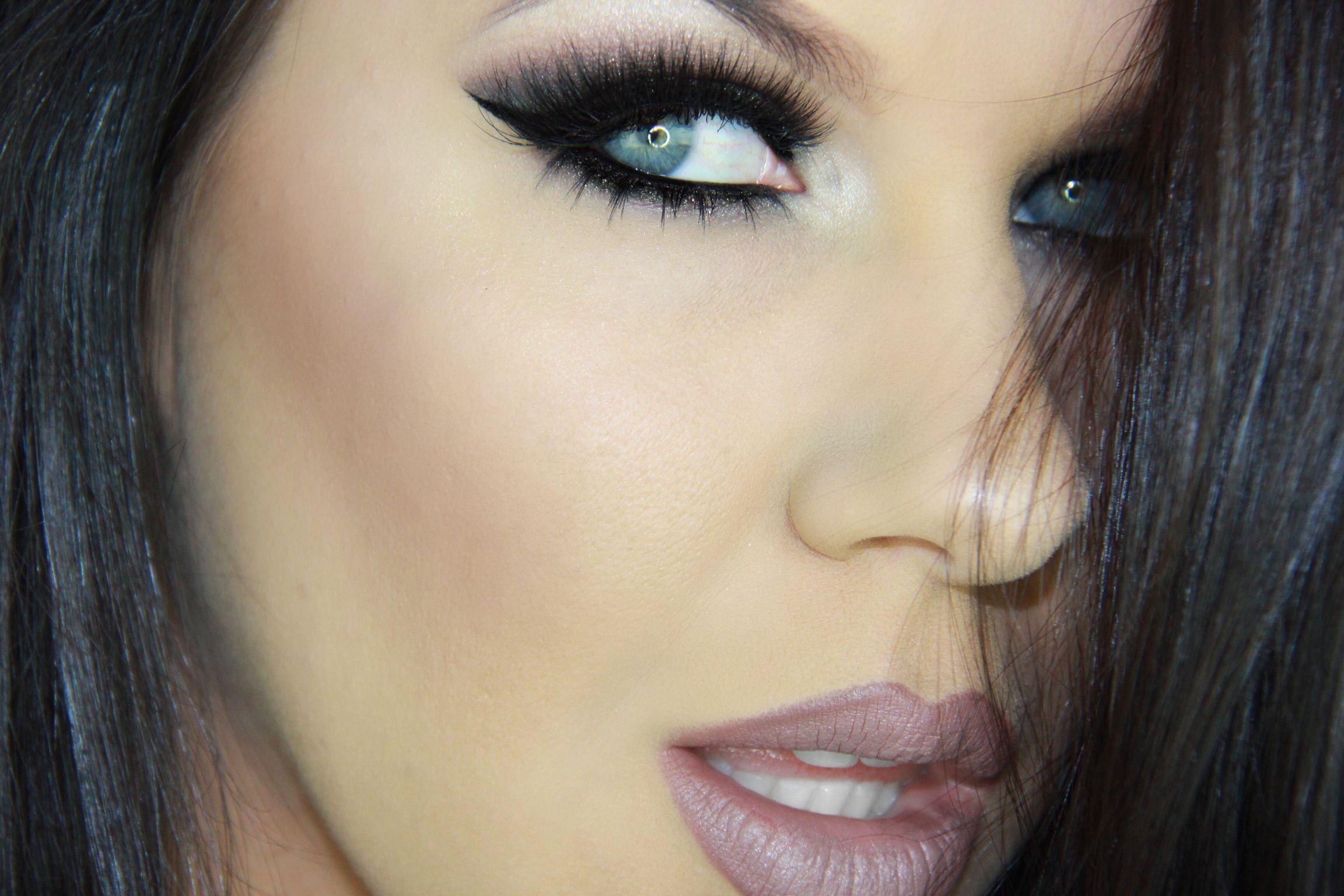Pin by Eye of Horus Cosmetics on BLACK Eye makeup