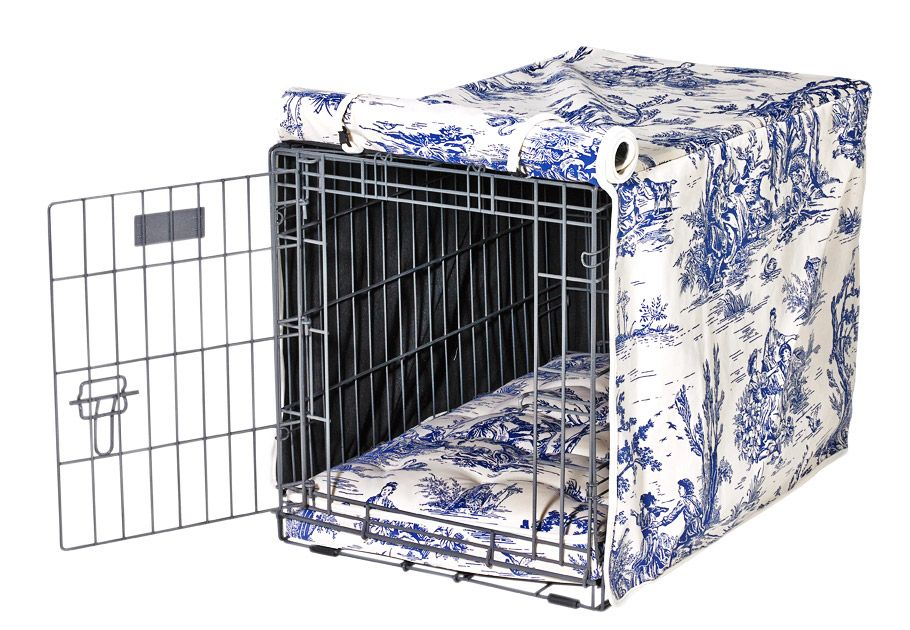 7 Ways To Dress Up An Ordinary Dog Crate Dog Crate Cover Crate