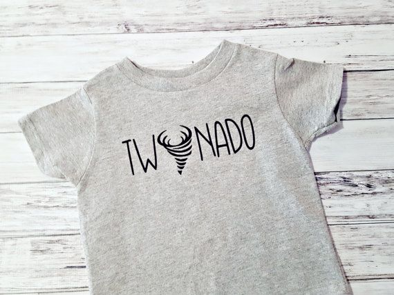 2nd Birthday Shirt Twonado Boys Second Party Top
