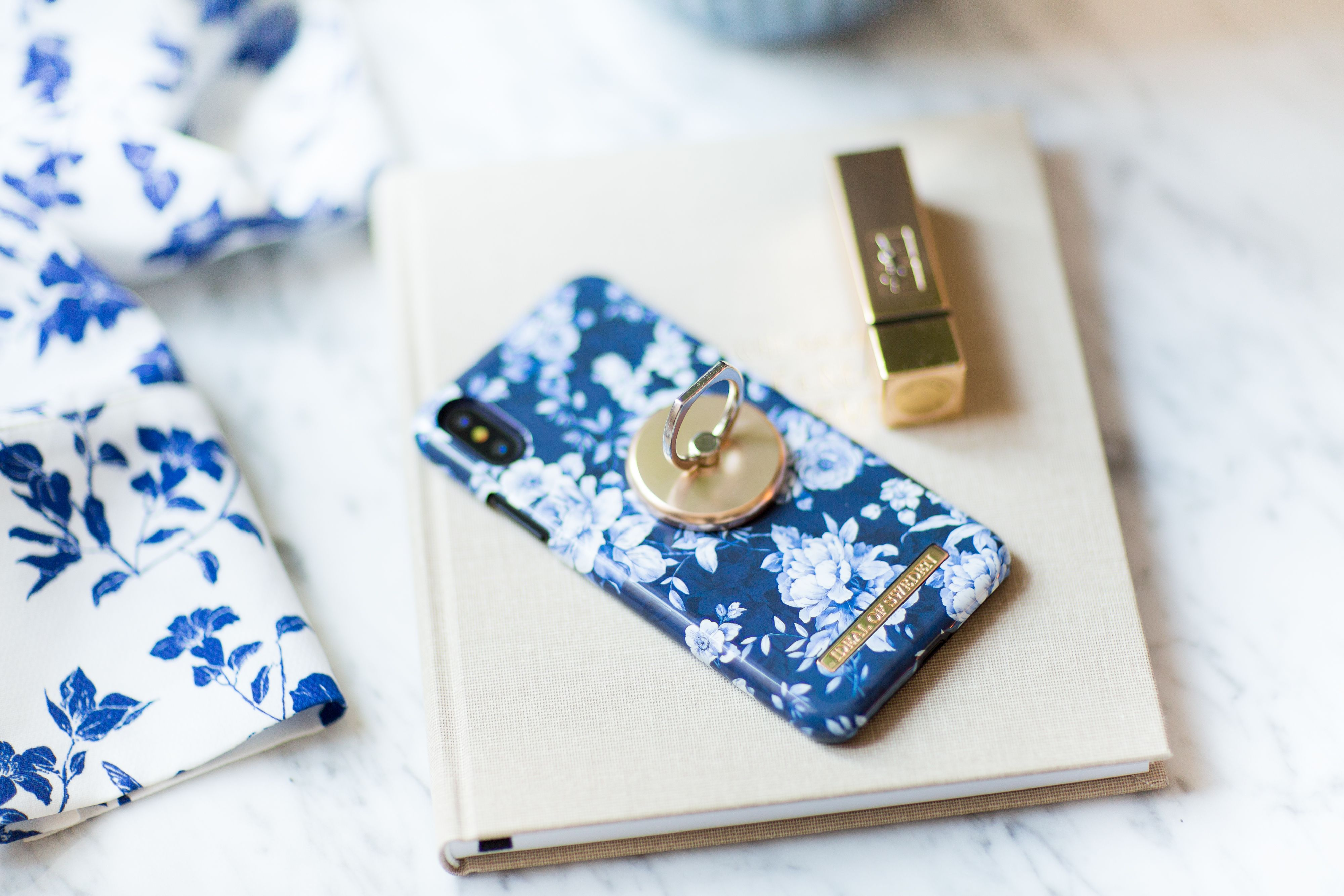coque iphone xr ideal of sweden sailor blue