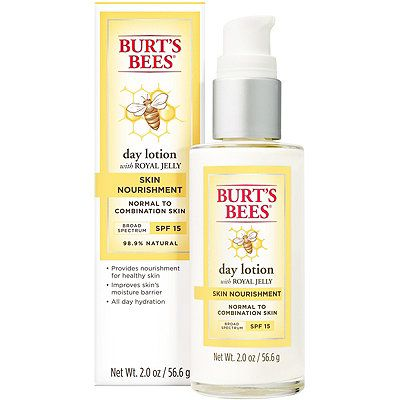 Get All Day Hydration And Sun Protection With Burt S Bees Skin Nourishment Day Lotion With Spf 15 Perfec Combination Skin Best Face Products Burts Bees Lotion