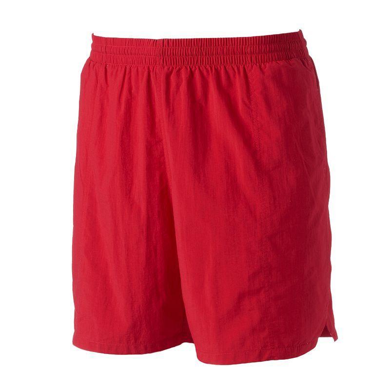 Men's TYR Classic Deck Swim Shorts, Med Red