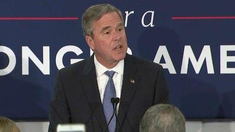 Jeb Bush is suspending his campaign for the Republican nomination, he announced Saturday night.