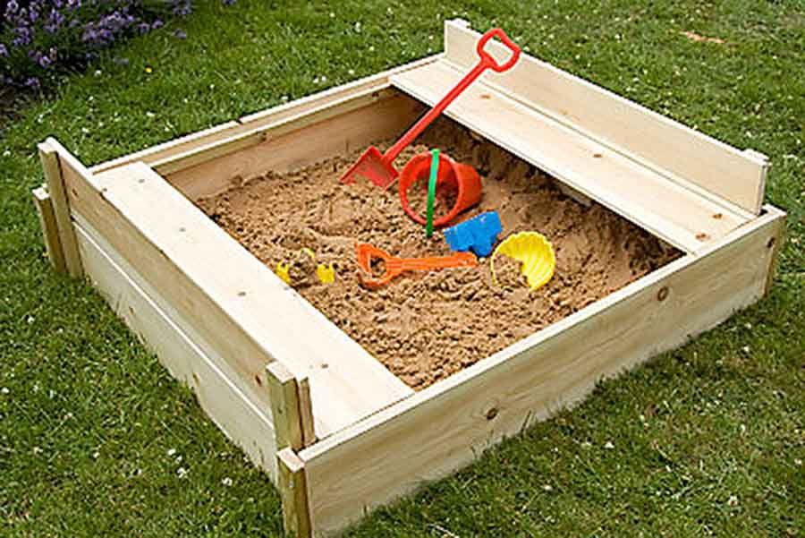 create a wonderful play area with a portable sandpit childrens garden sandpit - Garden Design Children S Play Area