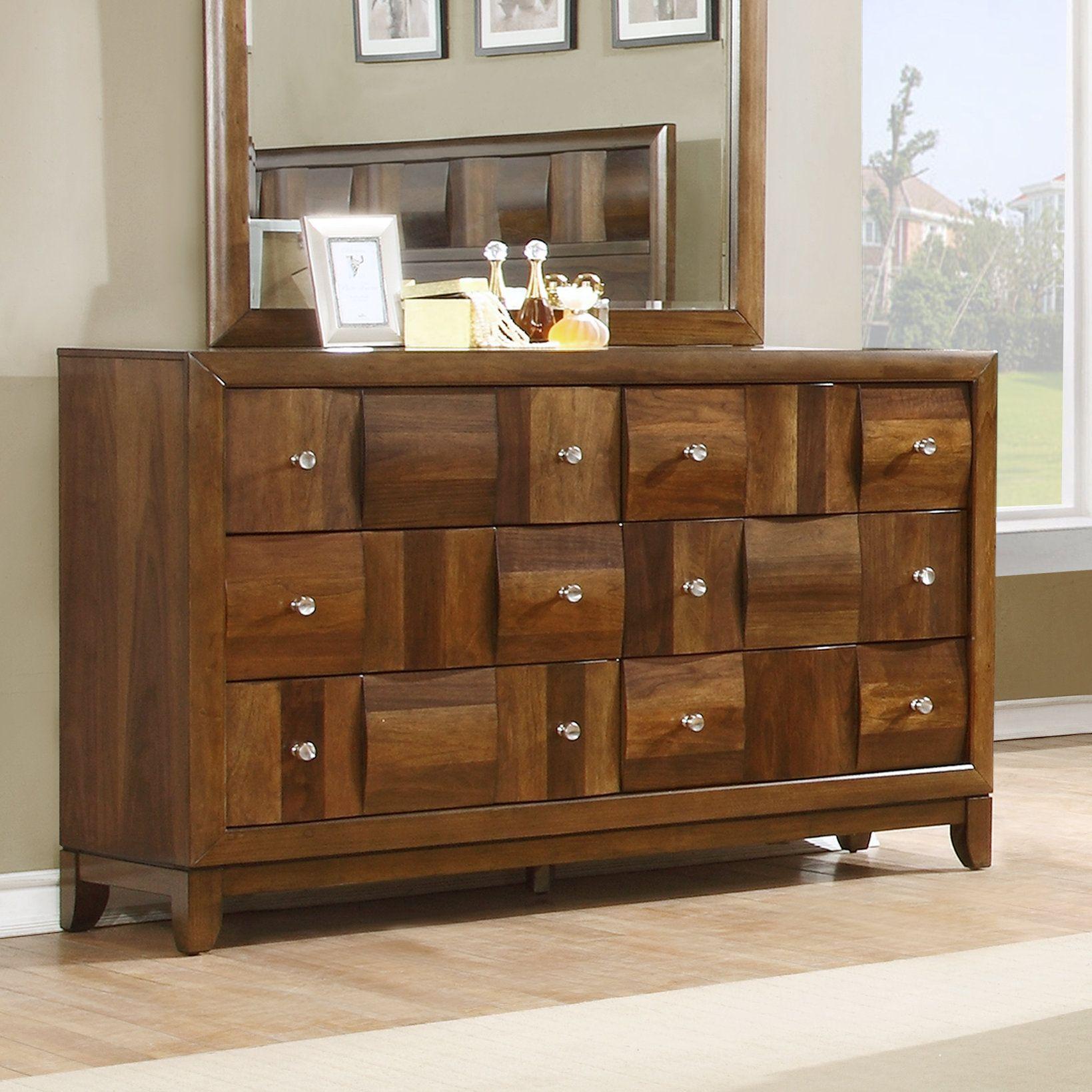Calais Solid Wood 6 Drawer Dresser Solid Wood Dresser Furniture Home Decor