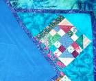 How to use fleece as a quilt backing.