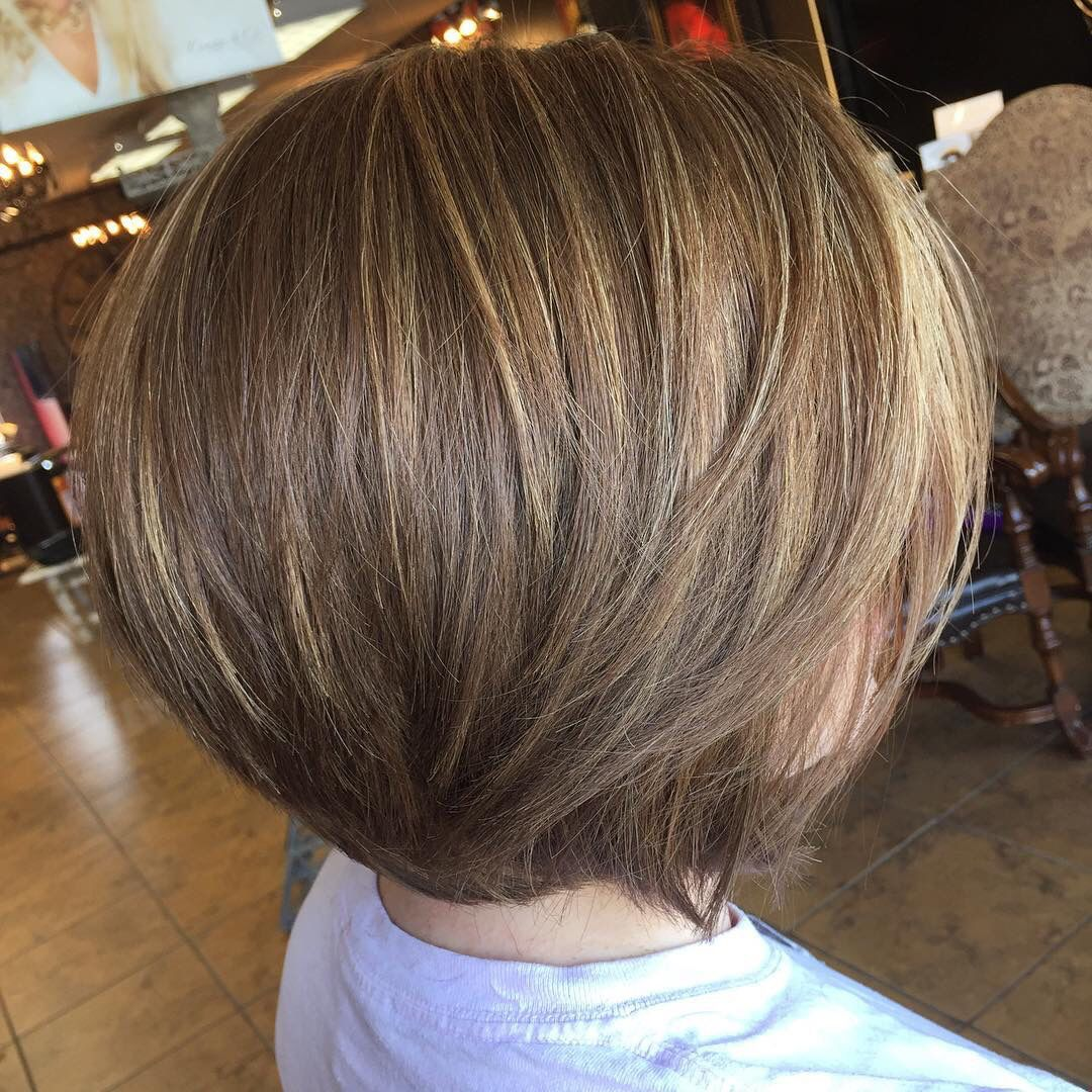 Golden Brown Bob With Sun Kissed Highlights Cowanandco Blonde Hair Tips Blonde Tips Short Hair Highlights